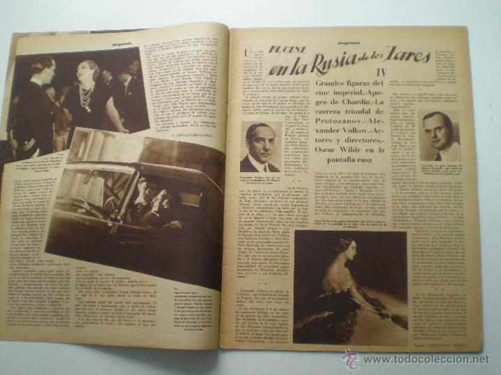 Cine: CINEGRAMAS AÑO 1 Nº 10 MADRID 18 NOV 1934 // REVISTA CINE CAROLE LOMBARD GARY COOPER ART DECO MAG - Foto 3 - 53448210