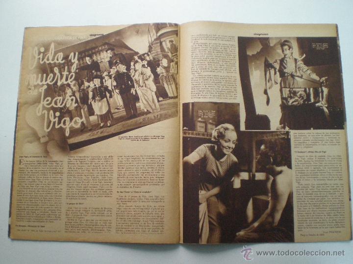 Cine: CINEGRAMAS AÑO 1 Nº 10 MADRID 18 NOV 1934 // REVISTA CINE CAROLE LOMBARD GARY COOPER ART DECO MAG - Foto 8 - 53448210