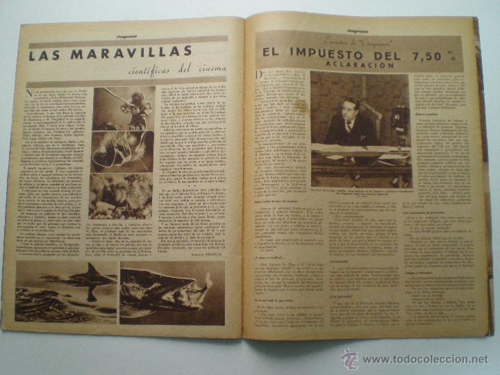 Cine: CINEGRAMAS AÑO 1 Nº 10 MADRID 18 NOV 1934 // REVISTA CINE CAROLE LOMBARD GARY COOPER ART DECO MAG - Foto 9 - 53448210