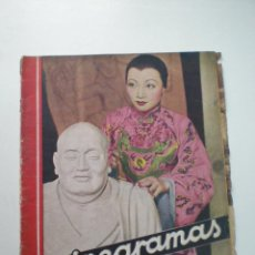 Cine: CINEGRAMAS AÑO 1 Nº 11 MADRID 25 NOV 1934 // REVISTA CINE ANNA MAY WONG ART DECO MAG. Lote 53448299
