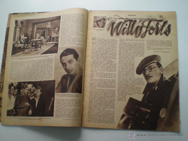 Cine: CINEGRAMAS AÑO 1 Nº 13 MADRID 9 DIC 1934 // REVISTA CINE ROSITA MORENO ART DECO MAG - Foto 3 - 53448338