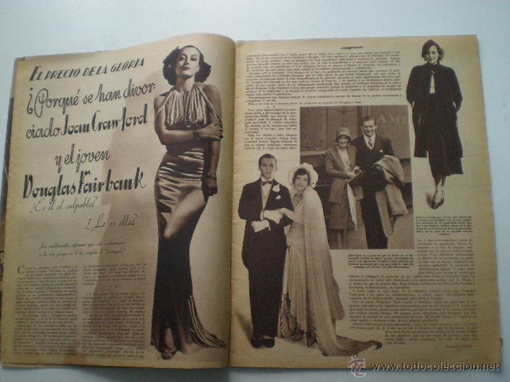 Cine: CINEGRAMAS AÑO 1 Nº 13 MADRID 9 DIC 1934 // REVISTA CINE ROSITA MORENO ART DECO MAG - Foto 4 - 53448338