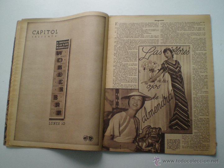 Cine: CINEGRAMAS AÑO 1 Nº 13 MADRID 9 DIC 1934 // REVISTA CINE ROSITA MORENO ART DECO MAG - Foto 6 - 53448338
