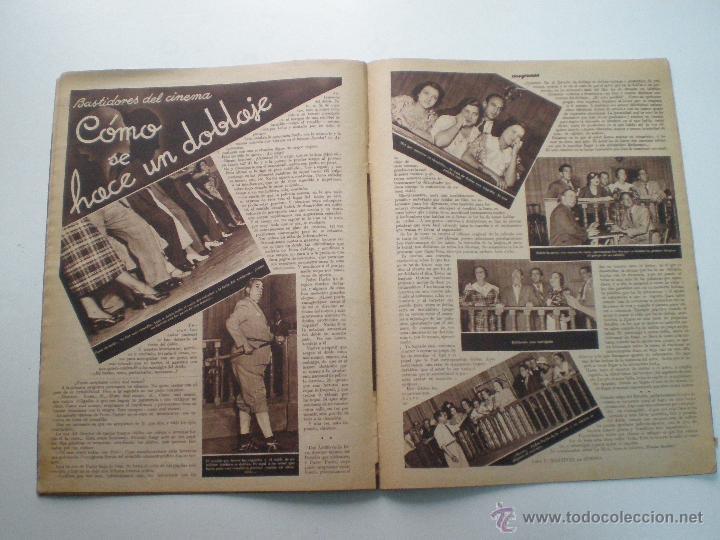Cine: CINEGRAMAS AÑO 1 Nº 13 MADRID 9 DIC 1934 // REVISTA CINE ROSITA MORENO ART DECO MAG - Foto 7 - 53448338