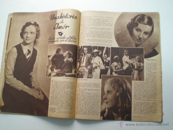 Cine: CINEGRAMAS AÑO 1 Nº 13 MADRID 9 DIC 1934 // REVISTA CINE ROSITA MORENO ART DECO MAG - Foto 8 - 53448338