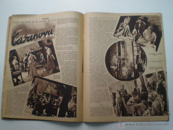 Cine: CINEGRAMAS AÑO 1 Nº 13 MADRID 9 DIC 1934 // REVISTA CINE ROSITA MORENO ART DECO MAG - Foto 10 - 53448338
