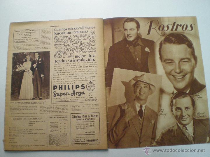 Cine: CINEGRAMAS AÑO 1 Nº 13 MADRID 9 DIC 1934 // REVISTA CINE ROSITA MORENO ART DECO MAG - Foto 11 - 53448338