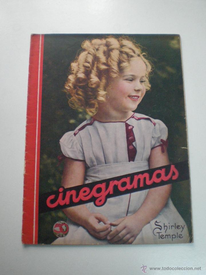 CINEGRAMAS AÑO 1 Nº 16MADRID 30 DIC 1934 // REVISTA CINE SHIRLEY TEMPLE MARIONETAS DE STAREWITCH (Cine - Revistas - Cinegramas)