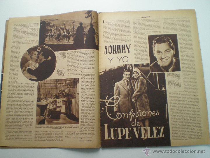 Cine: CINEGRAMAS AÑO 1 Nº 16MADRID 30 dic 1934 // REVISTA CINE SHIRLEY TEMPLE MARIONETAS DE STAREWITCH - Foto 3 - 53451168