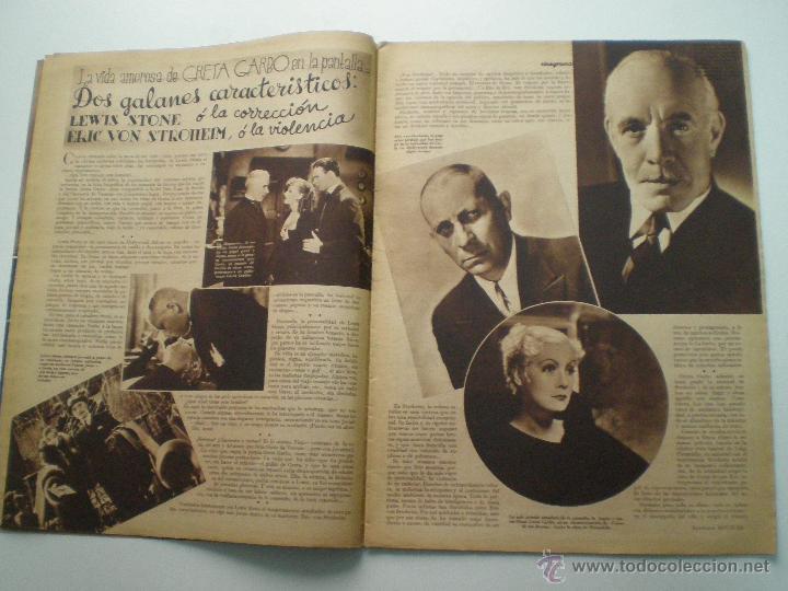 Cine: CINEGRAMAS AÑO 1 Nº 16MADRID 30 dic 1934 // REVISTA CINE SHIRLEY TEMPLE MARIONETAS DE STAREWITCH - Foto 4 - 53451168