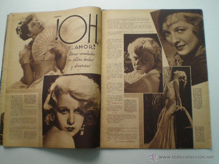 Cine: CINEGRAMAS AÑO 1 Nº 16MADRID 30 dic 1934 // REVISTA CINE SHIRLEY TEMPLE MARIONETAS DE STAREWITCH - Foto 5 - 53451168