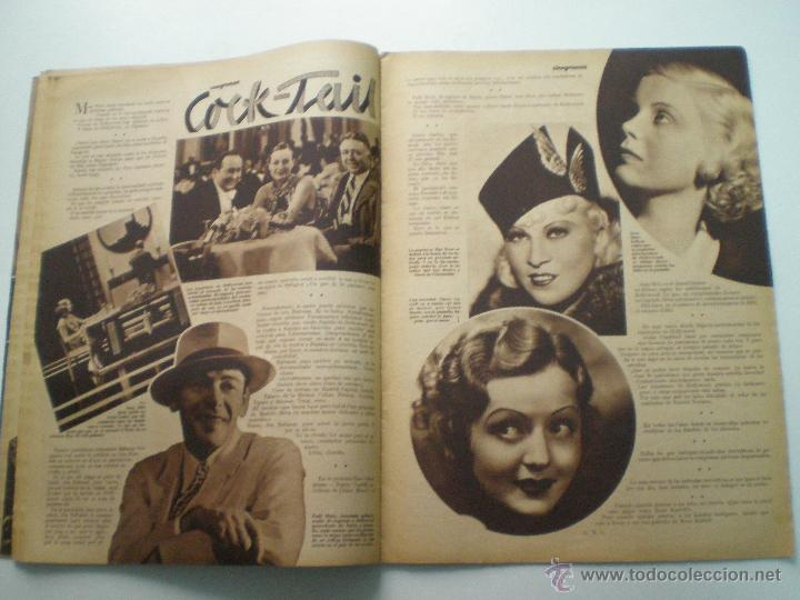 Cine: CINEGRAMAS AÑO 1 Nº 16MADRID 30 dic 1934 // REVISTA CINE SHIRLEY TEMPLE MARIONETAS DE STAREWITCH - Foto 6 - 53451168