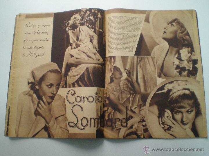 Cine: CINEGRAMAS AÑO 1 Nº 16MADRID 30 dic 1934 // REVISTA CINE SHIRLEY TEMPLE MARIONETAS DE STAREWITCH - Foto 7 - 53451168
