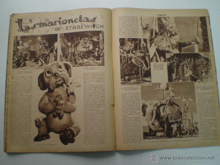 Cine: CINEGRAMAS AÑO 1 Nº 16MADRID 30 dic 1934 // REVISTA CINE SHIRLEY TEMPLE MARIONETAS DE STAREWITCH - Foto 8 - 53451168