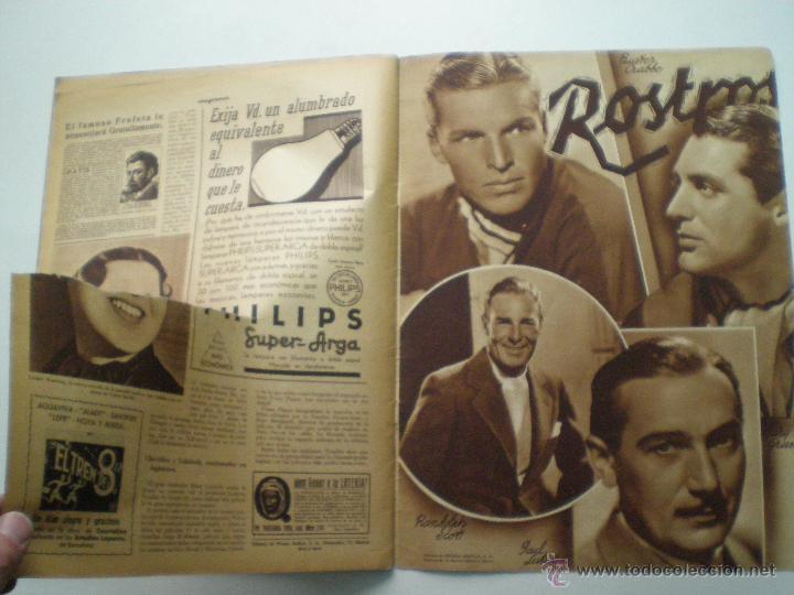 Cine: CINEGRAMAS AÑO 1 Nº 16MADRID 30 dic 1934 // REVISTA CINE SHIRLEY TEMPLE MARIONETAS DE STAREWITCH - Foto 10 - 53451168