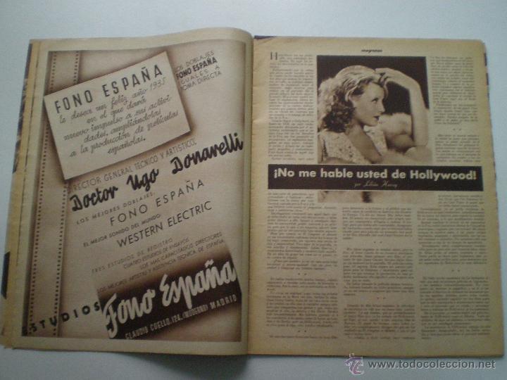 Cine: CINEGRAMAS AÑO 2 Nº 17 MADRID 6 ENE 1935 // REVISTA CINE LORETTA YOUNG ROUBEN MAMOULIAN ART DECO MAG - Foto 4 - 53451291