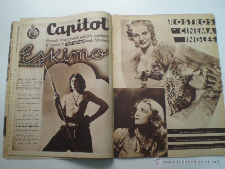 Cine: CINEGRAMAS AÑO 2 Nº 17 MADRID 6 ENE 1935 // REVISTA CINE LORETTA YOUNG ROUBEN MAMOULIAN ART DECO MAG - Foto 5 - 53451291