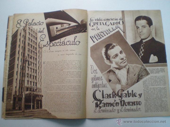 Cine: CINEGRAMAS AÑO 2 Nº 17 MADRID 6 ENE 1935 // REVISTA CINE LORETTA YOUNG ROUBEN MAMOULIAN ART DECO MAG - Foto 6 - 53451291