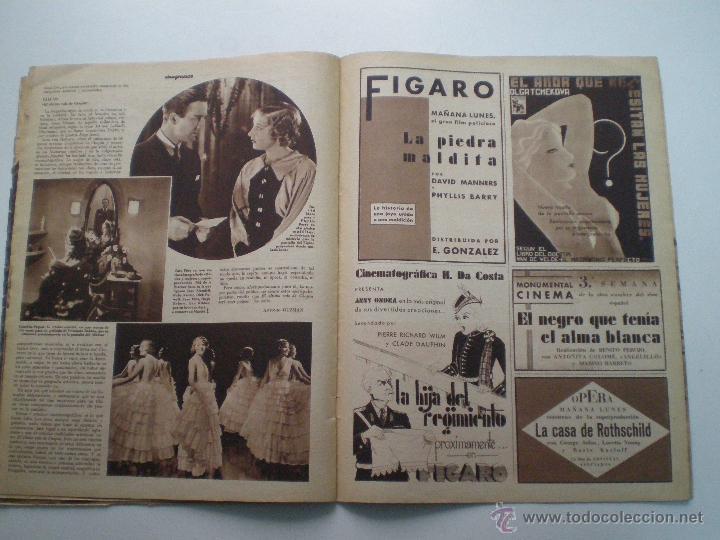 Cine: CINEGRAMAS AÑO 2 Nº 17 MADRID 6 ENE 1935 // REVISTA CINE LORETTA YOUNG ROUBEN MAMOULIAN ART DECO MAG - Foto 8 - 53451291