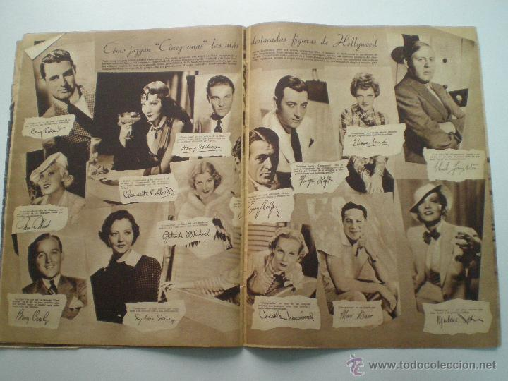 Cine: CINEGRAMAS AÑO 2 Nº 17 MADRID 6 ENE 1935 // REVISTA CINE LORETTA YOUNG ROUBEN MAMOULIAN ART DECO MAG - Foto 9 - 53451291