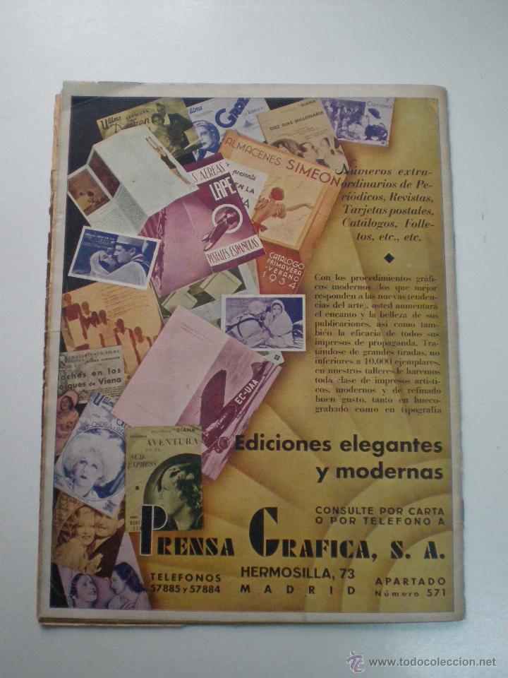 Cine: CINEGRAMAS AÑO 2 Nº 17 MADRID 6 ENE 1935 // REVISTA CINE LORETTA YOUNG ROUBEN MAMOULIAN ART DECO MAG - Foto 11 - 53451291