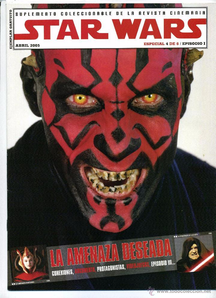 STAR WARS. REVISTA CINERAMA 2005. (Cine - Revistas - Cinemanía)