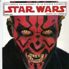Cine: STAR WARS. REVISTA CINERAMA 2005.. Lote 53507755