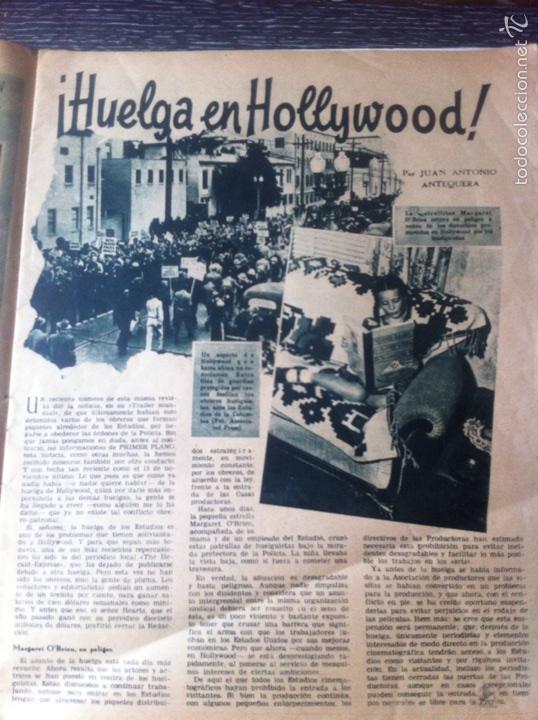 Cine: Antigua revista cine primer plano 1946, Maureen Ohara en portada, ver fotos adicionales - Foto 2 - 53567896