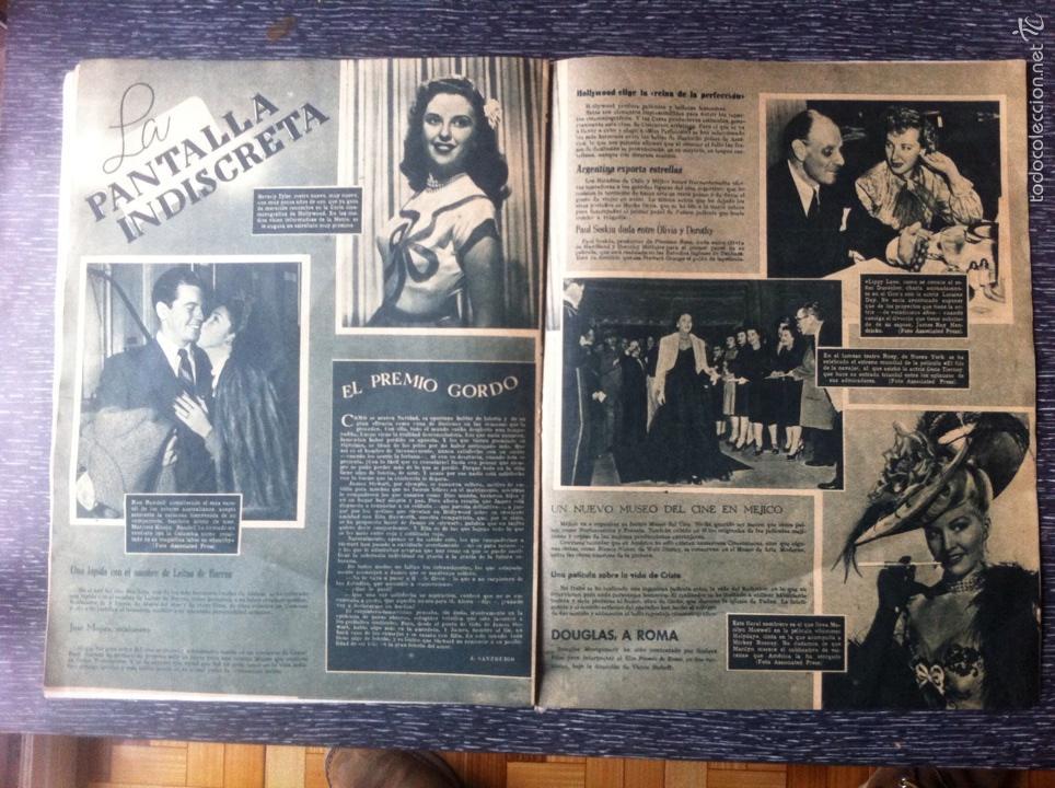 Cine: Antigua revista cine primer plano 1946, Maureen Ohara en portada, ver fotos adicionales - Foto 5 - 53567896