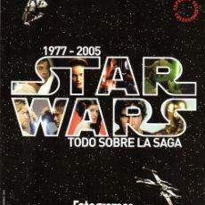 Cine: GUERRA DE LAS GALAXIAS. DOS SUPLEMENTOS DE FOTOGRAMAS (1977-1999-2005). Lote 53600903