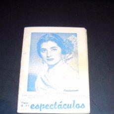 Cine: JUANITA REINA,REVISTA SEMANAL DE ESPECTACULOS.. Lote 53601966