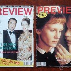 Cine: PREVIEW CINE & VIDEO N° 3 Y N° 4 1996. Lote 53658373