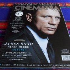 Cine: CINEMANÍA & SERIES Nº 242 NÚMERO ESPECIAL 20 ANIVERSARIO. NOV 15. JAMES BOND SPECTRE DANIEL CRAIG BE. Lote 53678470