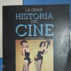 Cinéma: LA GRAN HISTORIA DEL CINE DE TERENCI MOIX . PLAN GENERAL DE LA OBRA.. Lote 53697373
