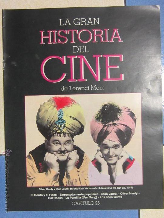 LA GRAN HISTORIA DEL CINE DE TERENCI MOIX . CAPITULO 25. EL GORDO Y EL FLACO. (Cine - Revistas - La Gran Historia del cine)