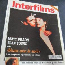 Cine: REVISTA CINE INTERFILMS. Nº 41 FEBRERO 1992 REPORTAJES: SHIRLEY MACLAINE BUDD BOETTICHER. Lote 53702882