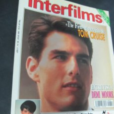 Cine: REVISTA CINE INTERFILMS. Nº 58 JULIO 1993. PORTADA TOM CRUISE. Lote 53702892