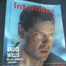 Cine: REVISTA CINE INTERFILMS. Nº 24 SEPTIEMBRE 1990 REPORTAJE: RAOUL WALSH. Lote 53702924