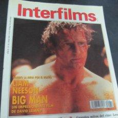 Cine: REVISTA CINE INTERFILMS Nº 34 JULIO 1991 REPORTAJES: MEL BROOKS, LEO MACCAREY. RIDLEY SCOTT. DE NIRO. Lote 53702997