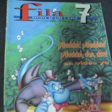 Cine: REVISTA FILA 7 Nº 13 JUNIO 1994. REPORTAJES: COMICS EN LA PANTALLA. SURREALISMO. JACK NICHOLSON. Lote 53703039