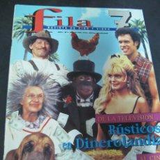 Cine: REVISTA FILA 7 N º 8 JUNIO 1994. REPORTAJES: EL NODO. STEVEN SPIELBERG.. Lote 53703103