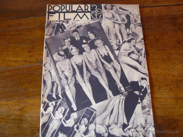 REVISTA SEMANAL CINEMATOGRÀFICA. AÑO IX : Nº 411. 28 DE JUNIO DE 1934 (Cine - Revistas - Popular film)