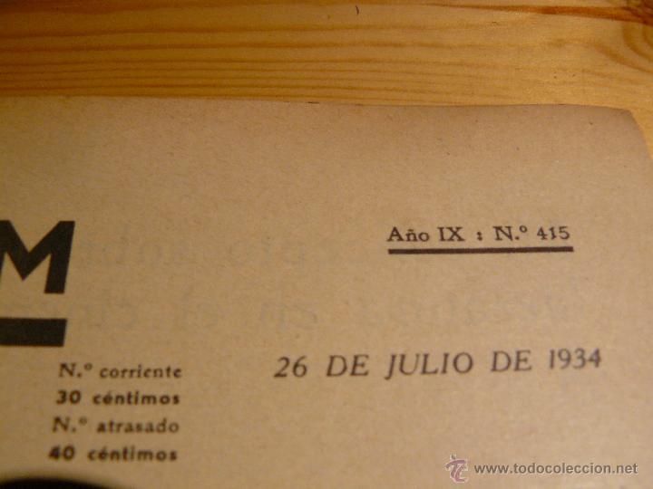 Cine: Revista cinematogràfica Popular Film. Año IX : Nº 415. 26 de Julio de 1934 - Foto 3 - 53714003