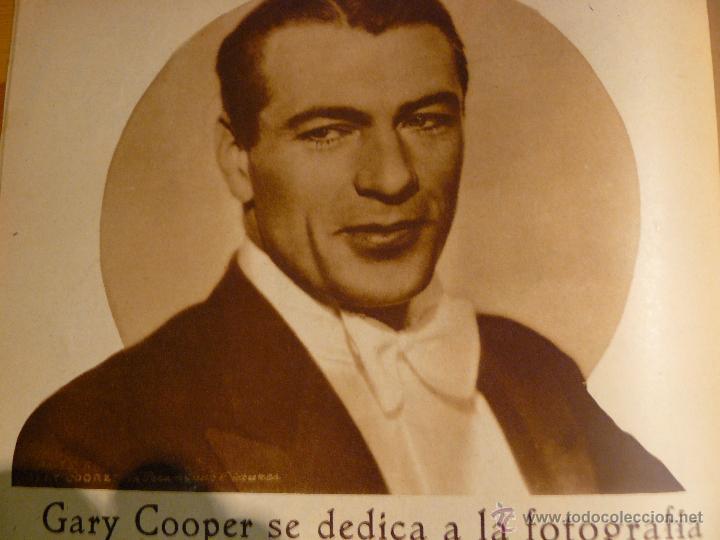 Cine: Revista cinematogràfica Popular Film. Año IX : Nº 415. 26 de Julio de 1934 - Foto 4 - 53714003