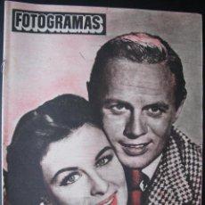 Cine: REVISTA FOTOGRAMAS Nº 173 CONSTANCE SMITH RICHARD WIDMARK 1952. Lote 53792762