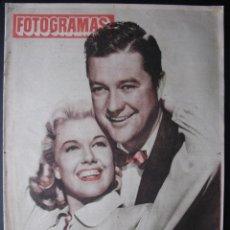 Cine: REVISTA FOTOGRAMAS Nº 161 DORIS DAY DENNIS MORGAN AUDREY HEPBURN GIGI 1951. Lote 53800528