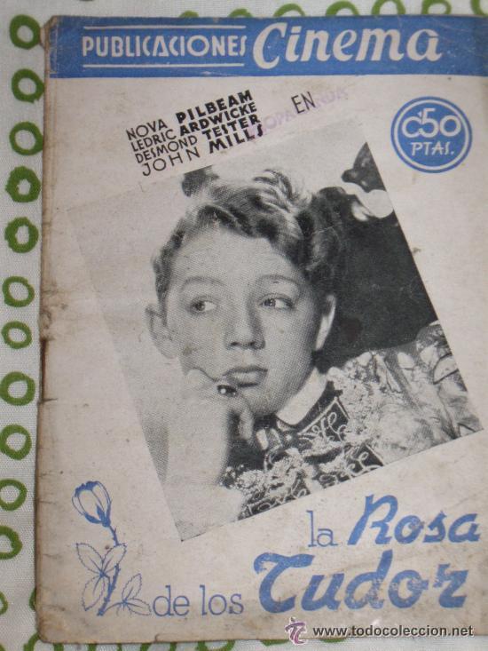 CINE LIBROS - PUBLICACIONES CINEMA Nº 31 LA ROSA DE LOS TUDOR (Cine - Revistas - Cinema)