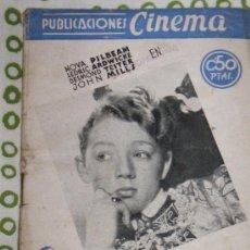 Cine: CINE LIBROS - PUBLICACIONES CINEMA Nº 31 LA ROSA DE LOS TUDOR . Lote 53812964