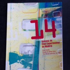 Cine: 14 SEMANA DE CINE EXPERIMENTAL DE MADRID - 2004. Lote 53819488