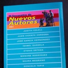 Cine: III ENCUENTRO DE NUEVOS AUTORES - 47 SEMANA INTERNACIONAL DE CINE - VALLADOLID 2002. Lote 53820256